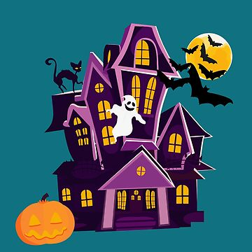 A haunted house! Spooky fun! Happy Halloween! by nanti