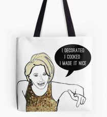 I made it nice Tote Bag