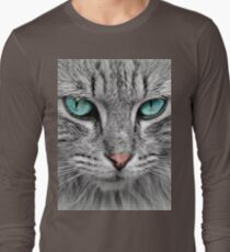 Grey and white Cat T-Shirt