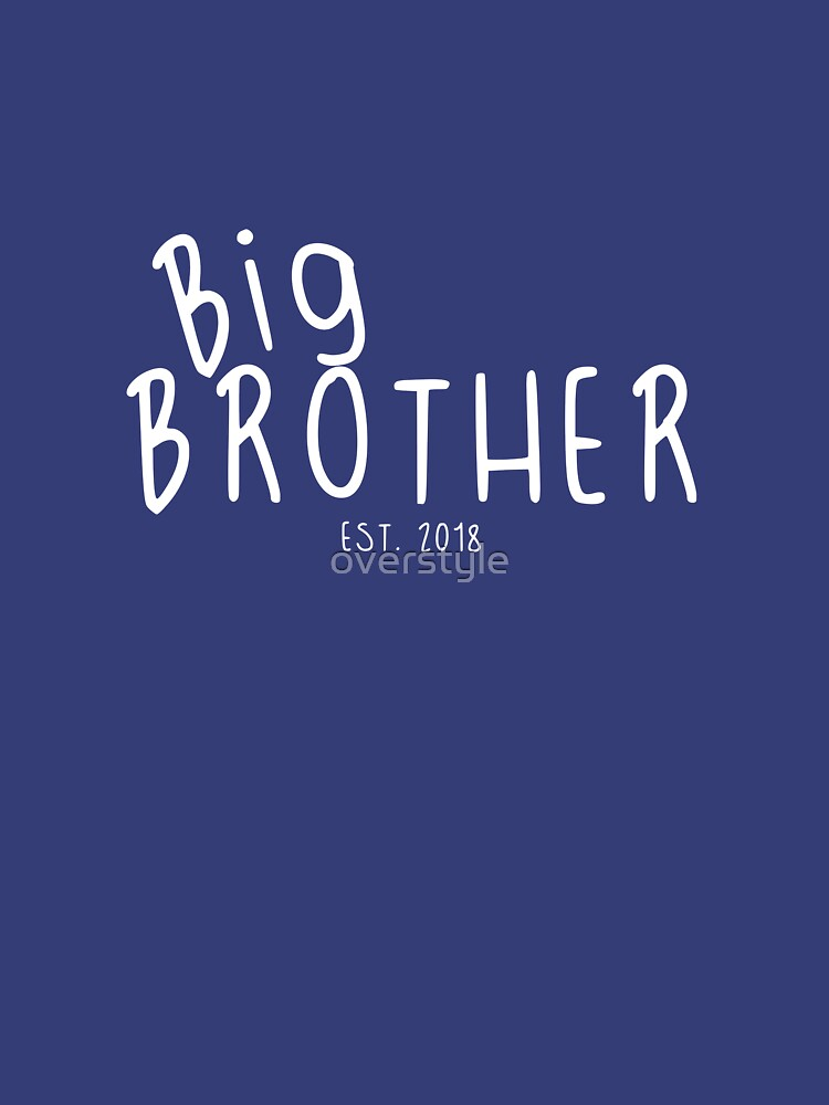 Big Brother Est 2018 by overstyle