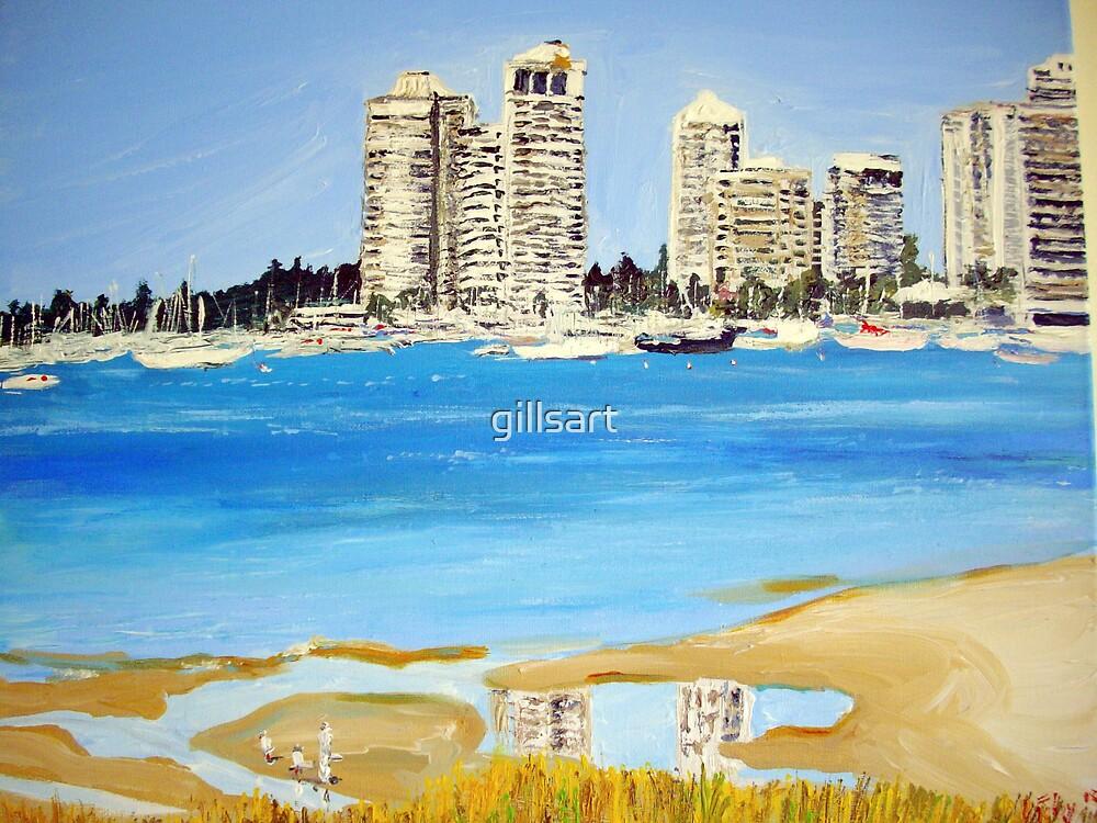 Gold Coast Broad Water  by gillsart