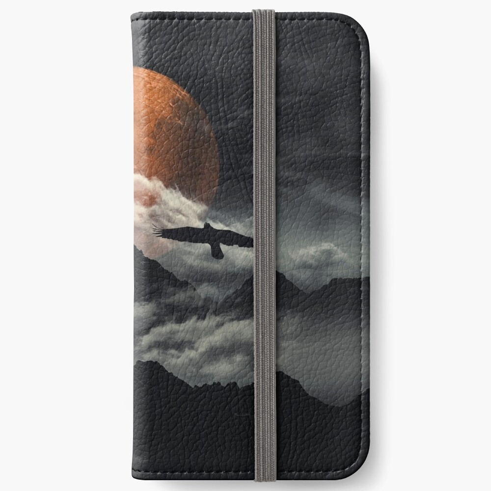 mars above mountains iPhone Wallet