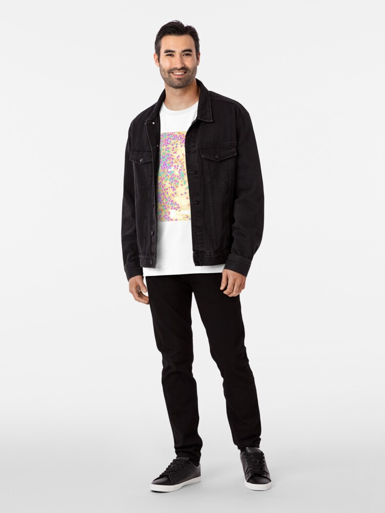 Alternate view of Color Wave Premium T-Shirt