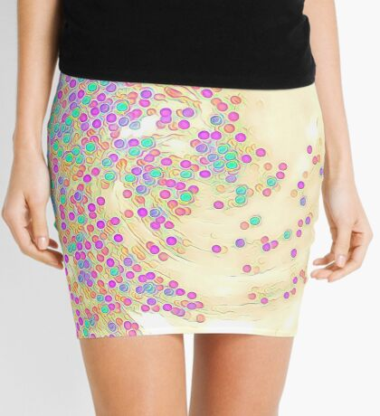 Color Wave Mini Skirt