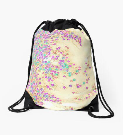 Color Wave Drawstring Bag