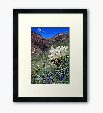 Peralta Canyon Framed Print