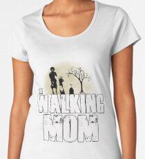 The Walking Mom Women's Premium T-Shirt