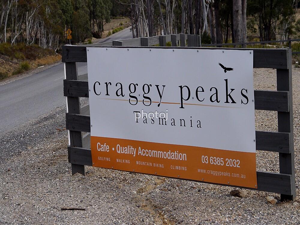 photoj Tasmania Craggy Peak Mountain by photoj