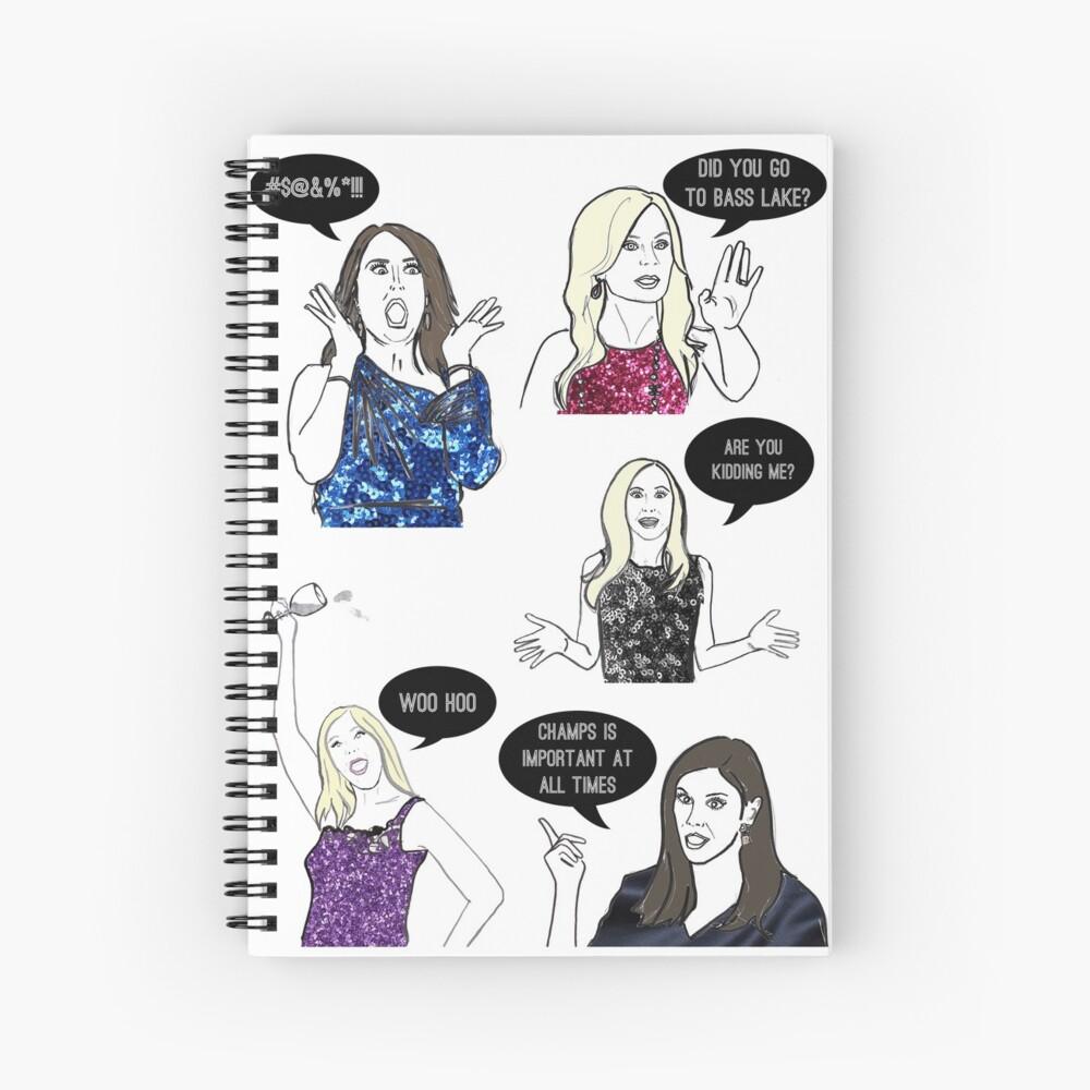 OC Ladies Spiral Notebook