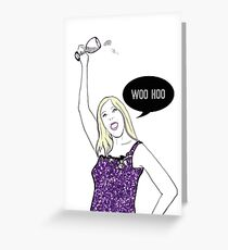 Woo Hoo Greeting Card