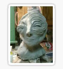 Clay Sculpture  Sticker