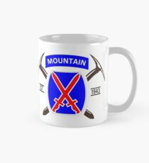 10th Mountain Division - EST 1943 Mug