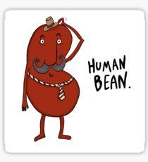 Human Bean Sticker