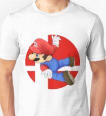 Super Smash Bros. - Mario Unisex T-Shirt