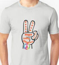 Peace Symbol. T-Shirt