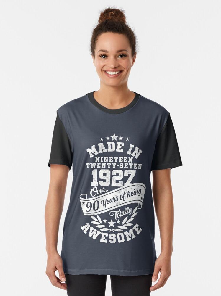 Alternative Ansicht von Made in 1927 - In über 90 Jahren absolut fantastisch Grafik T-Shirt