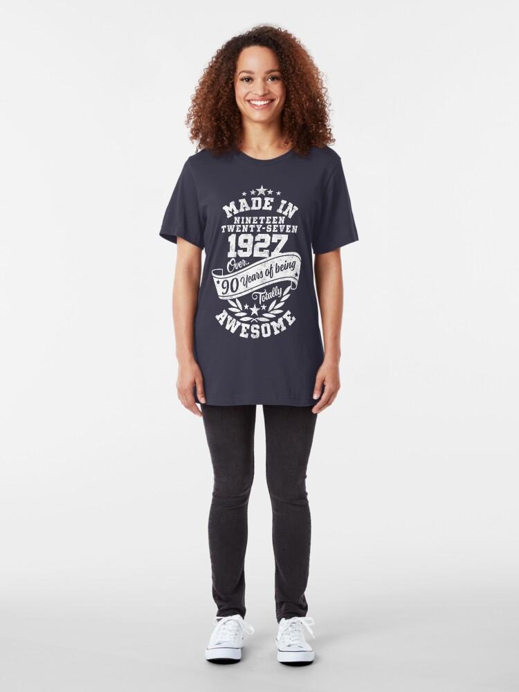 Alternative Ansicht von Made in 1927 - In über 90 Jahren absolut fantastisch Slim Fit T-Shirt