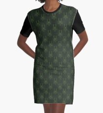 Frosted Iron Graphic T-Shirt Dress