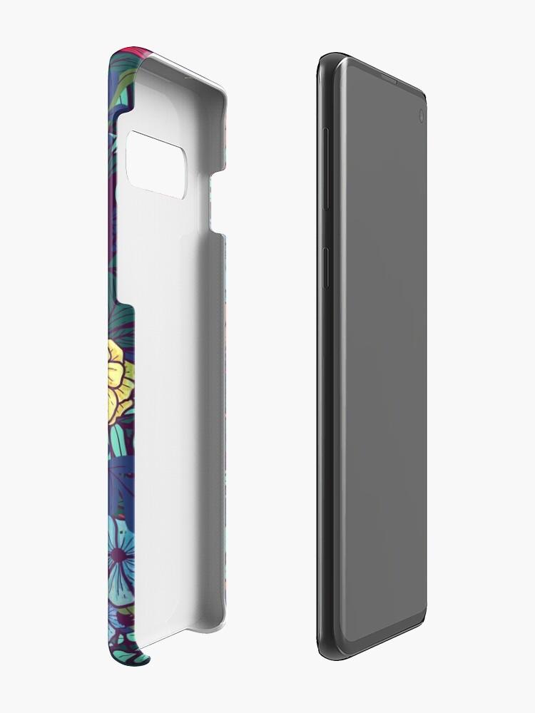 Alternate view of Wild Flowers Case & Skin for Samsung Galaxy