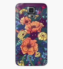 Wild Flowers Case/Skin for Samsung Galaxy