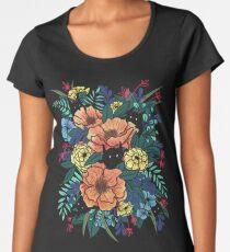 Wild Flowers Premium Scoop T-Shirt
