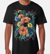 Wilde Blumen Longshirt