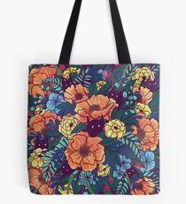 Bolsa de tela Flores silvestres