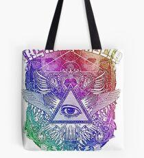 The Mars Volta Rainbow Tote Bag