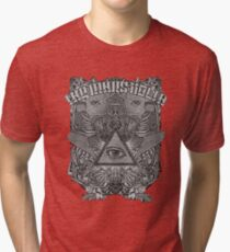 The Mars Volta Black and White Tri-blend T-Shirt