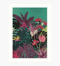 Lámina artística Tendencias tropicales