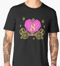 8th Birthday Carriage Princess T-Shirt Diamond Heart Eight Men's Premium T-Shirt