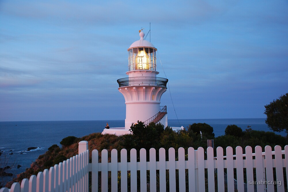 Seal Rocks Lighthouse by sarahncraig