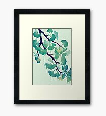 O Ginkgo (in Green) Framed Print
