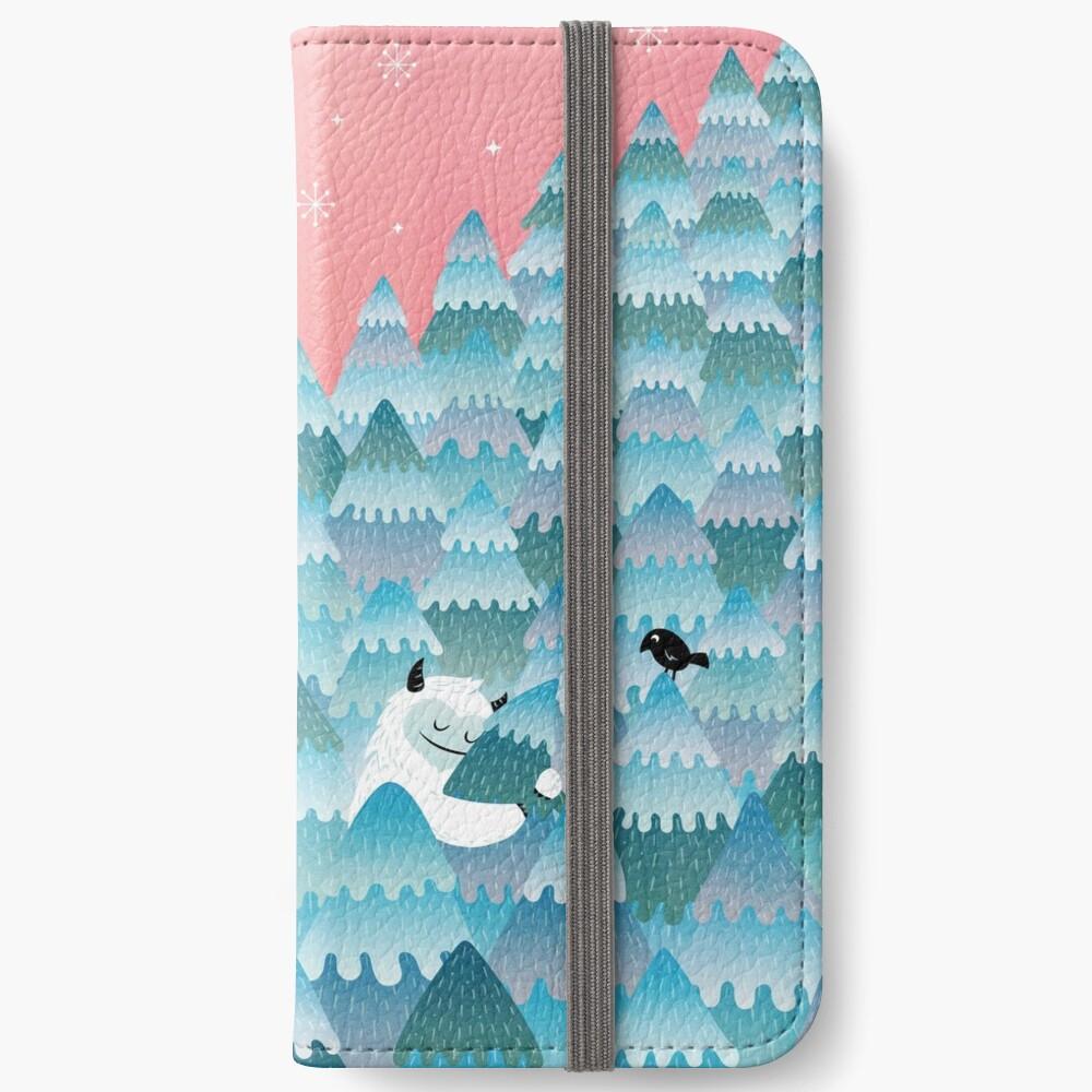 Baumumarmer iPhone Flip-Case