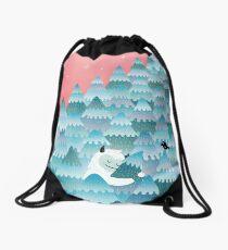 Tree Hugger Drawstring Bag