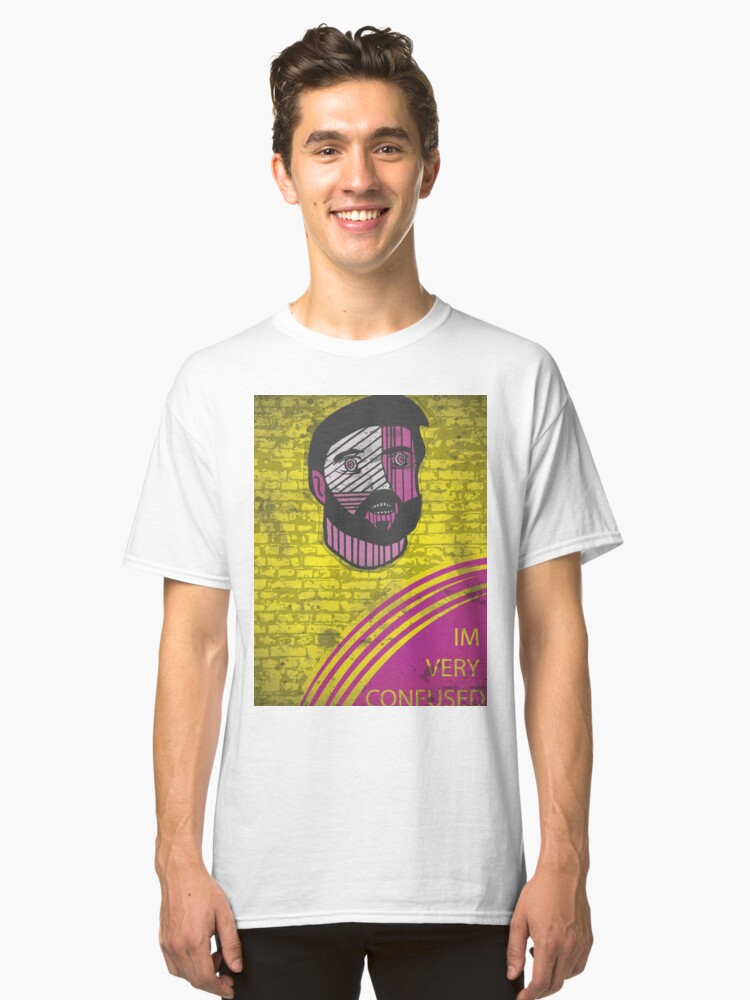 I'm Very Confused - IASIP Classic T-Shirt Front