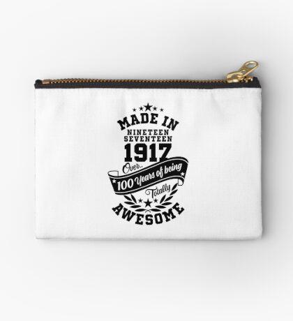 Made in 1917 - Über 100 Jahre Sein total ehrfürchtige Variante Täschchen