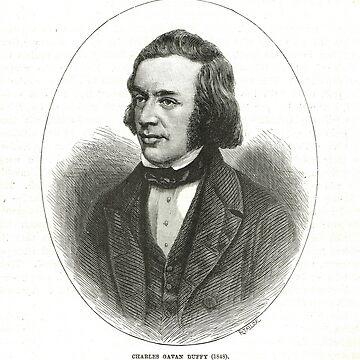 Charles Gavan Duffy 1816-1903, Irish radical & later Premier of Victoria  in Australia by artfromthepast