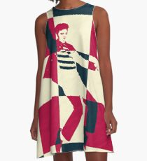 Jailhouse Rock A-Line Dress