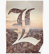 Deathnote Polyscape  Poster