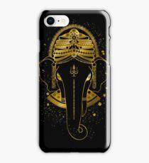 Gold Ganesha iPhone Case/Skin