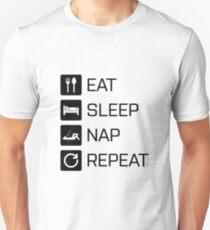 Eat Sleep Nap Repeat T-Shirt