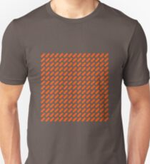 OMD style Orange Grid 1980 T-Shirt
