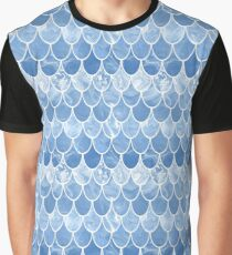 Blue scales Graphic T-Shirt