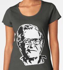 Noam Chomsky stencil white Women's Premium T-Shirt