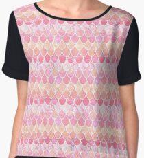 Rose scales Women's Chiffon Top
