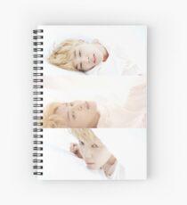 BTS JIMIN SERENDIPITY Spiral Notebook
