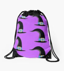witches hat Drawstring Bag