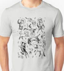 Raum Hunde Unisex T-Shirt