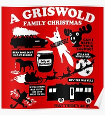 a griswold family christmas poster
